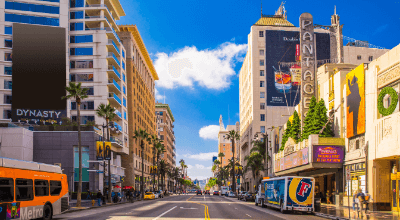 LA's Hollywood Boulevard, United States of America