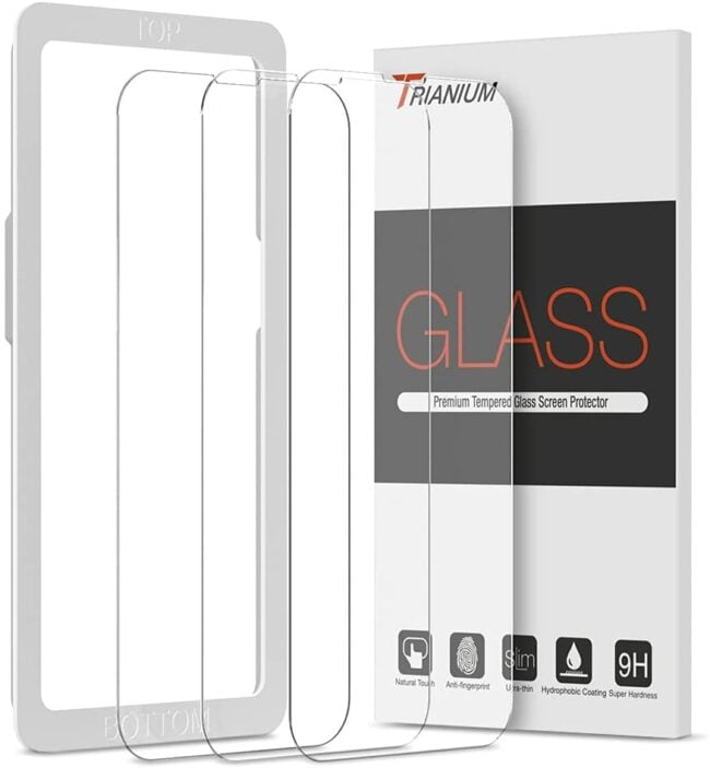 Trianium Screen Protector Compatible for iPhone 13 / iPhone 13 Pro 2021